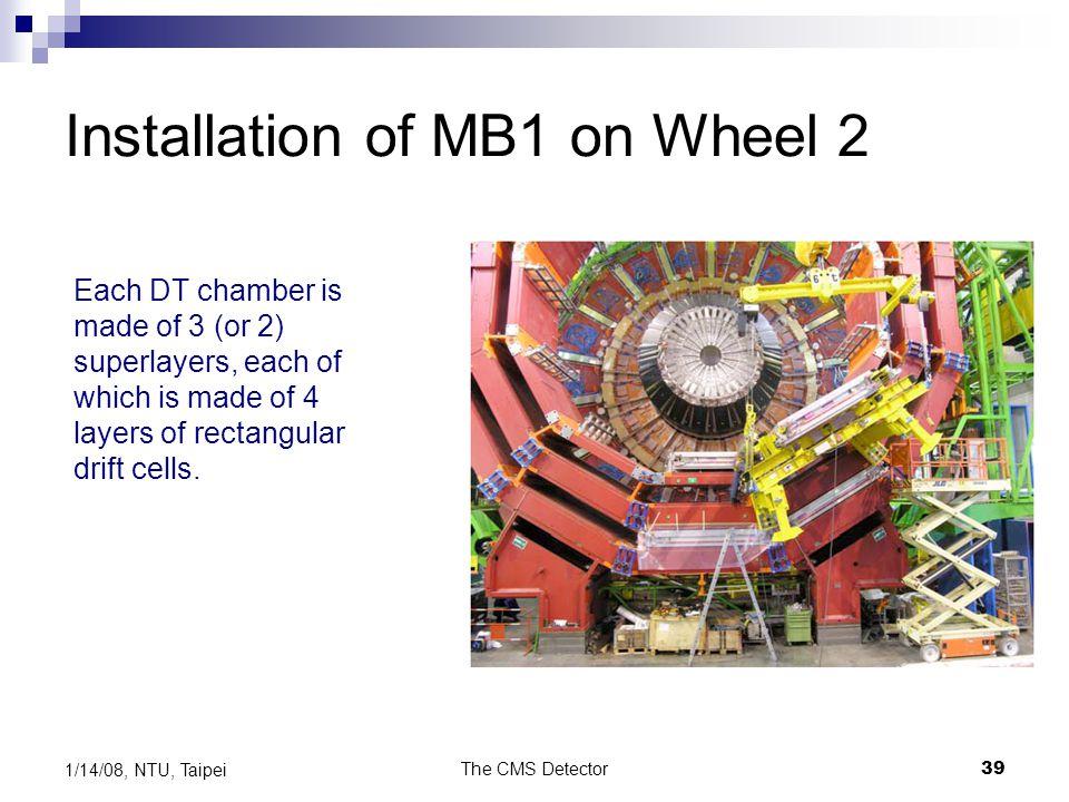 Installation of MB1 on Wheel 2