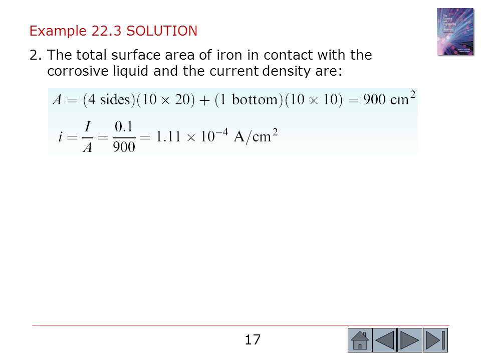 Example 22.3 SOLUTION 2.