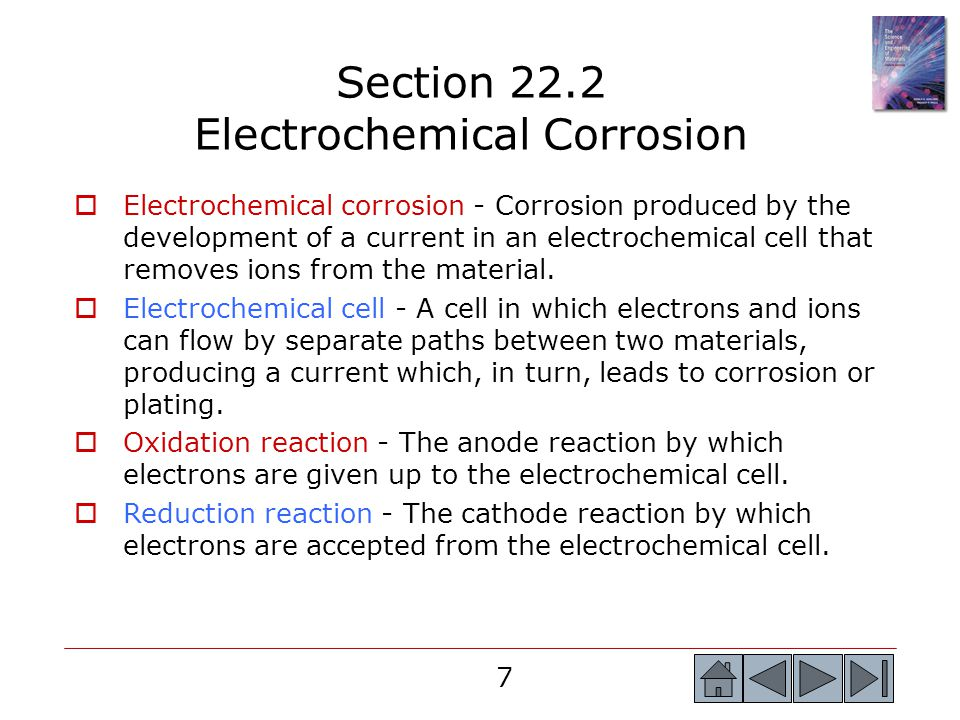Section 22.2 Electrochemical Corrosion