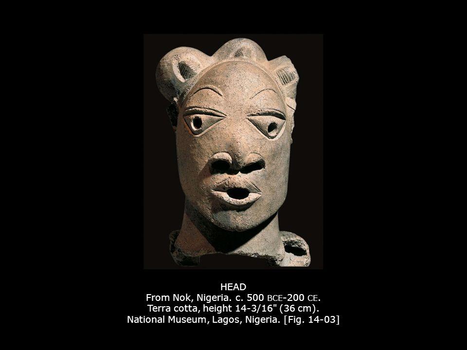 HEAD From Nok, Nigeria. c. 500 BCE-200 CE