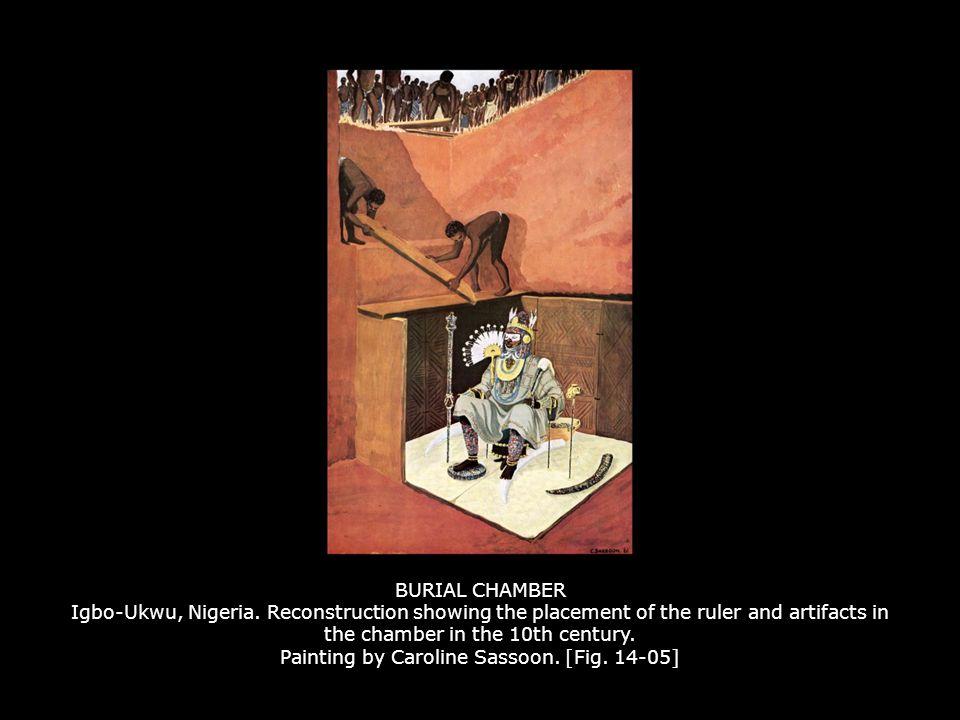 BURIAL CHAMBER Igbo-Ukwu, Nigeria