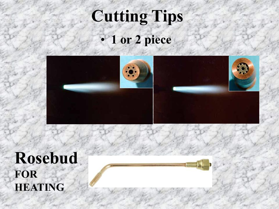 Cutting Tips 1 or 2 piece Rosebud FOR HEATING