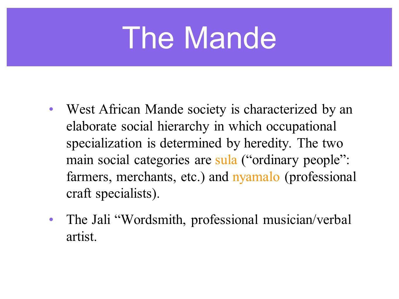 The Mande