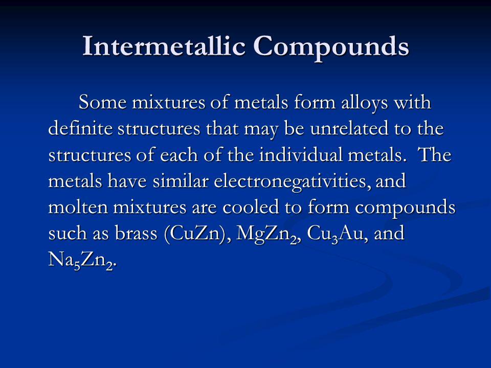 Intermetallic Compounds