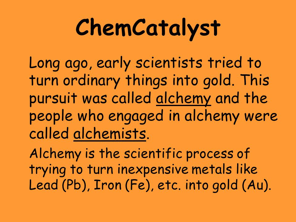 ChemCatalyst