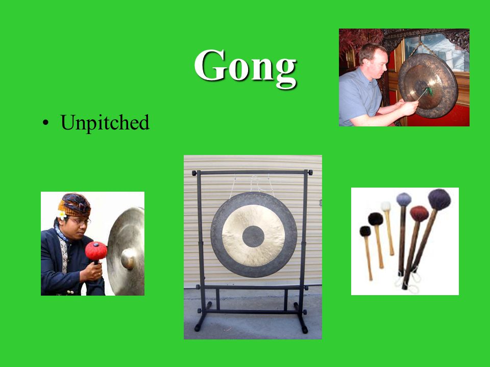 Gong Unpitched