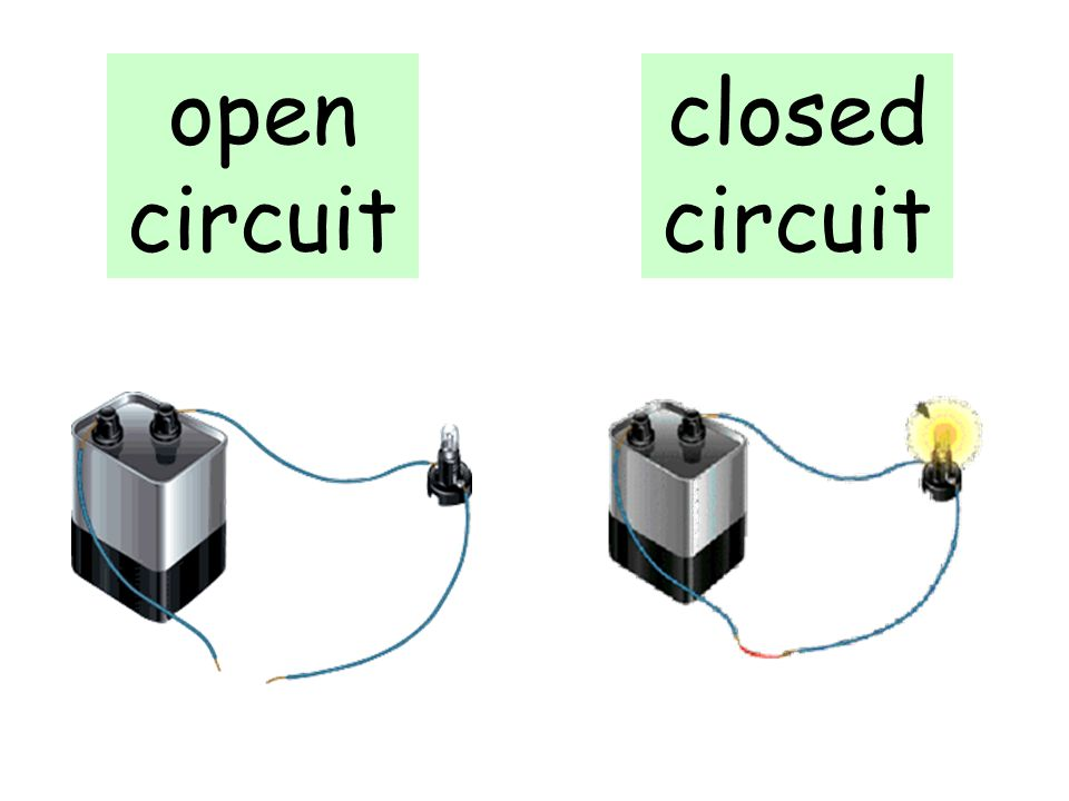 open circuit closed circuit What type of circuit is this *