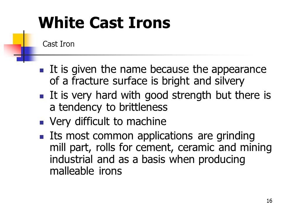 White Cast Irons Cast Iron