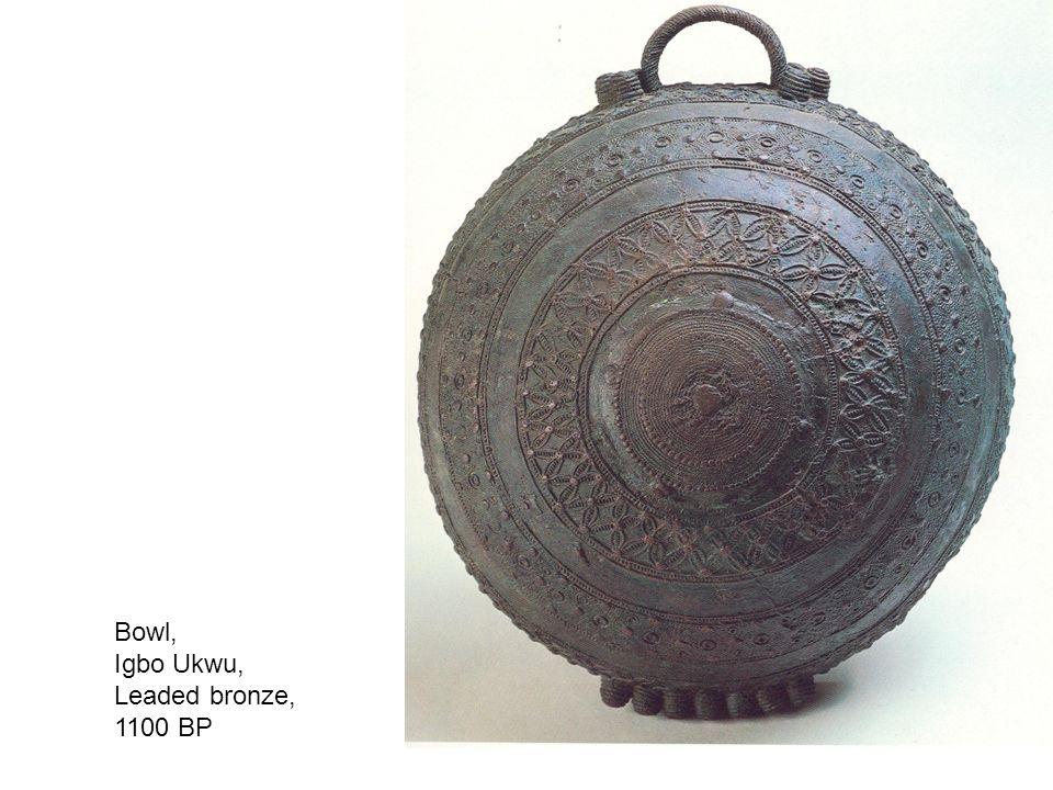 Bowl, Igbo Ukwu, Leaded bronze, 1100 BP