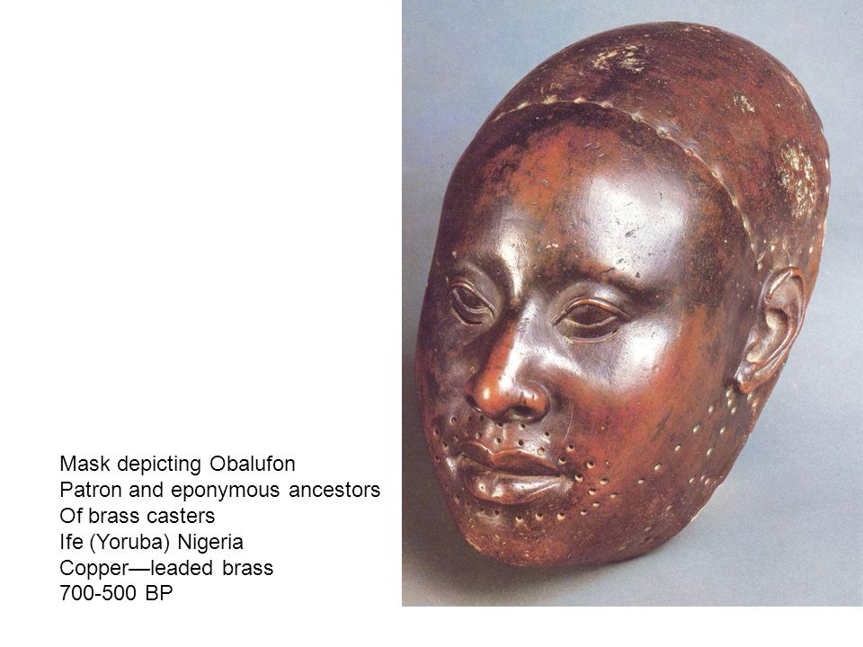 Mask depicting Obalufon