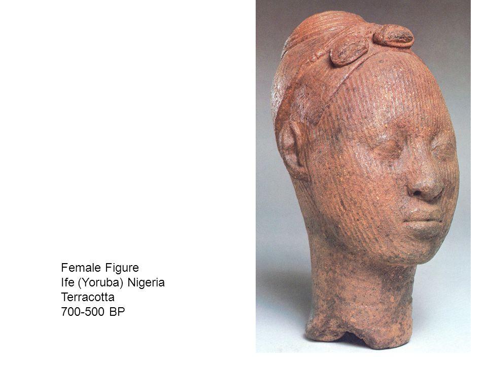 Female Figure Ife (Yoruba) Nigeria Terracotta 700-500 BP