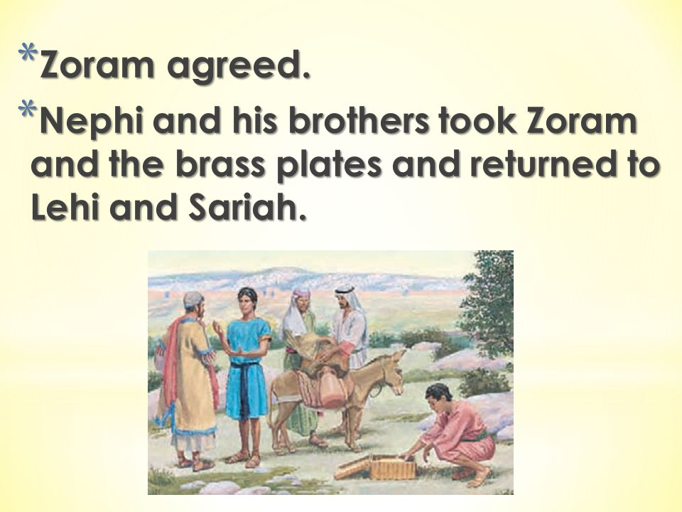 Zoram agreed.