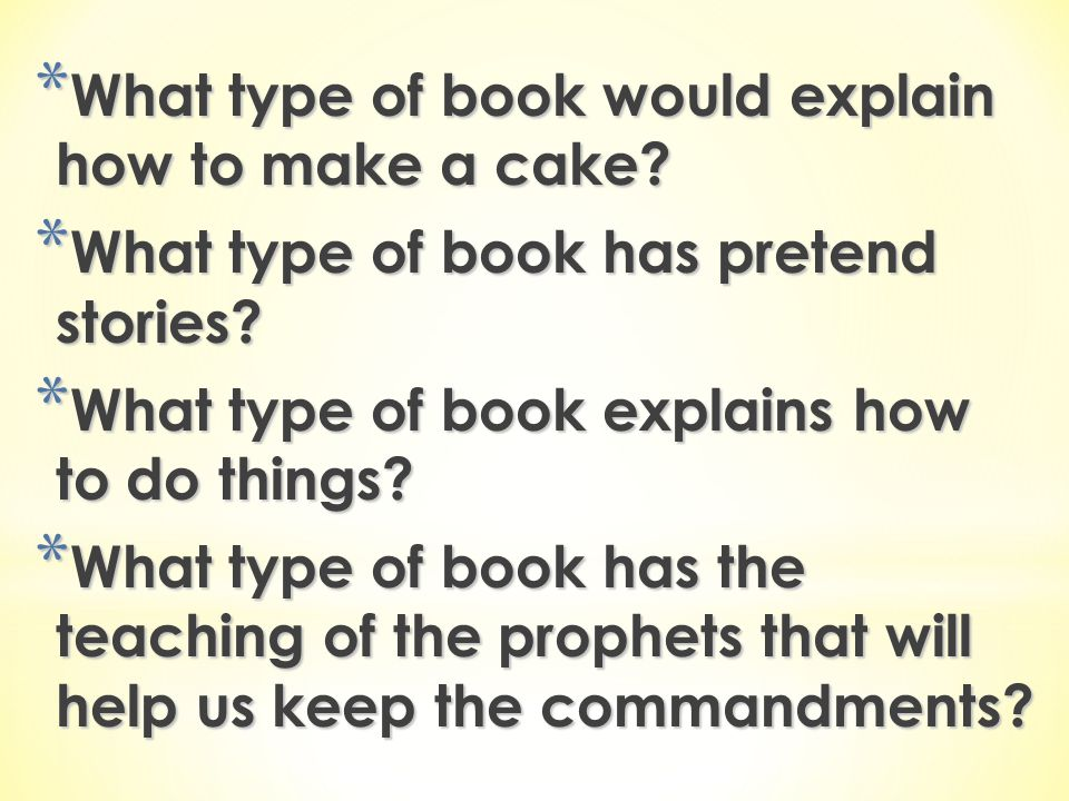 What type of book would explain how to make a cake