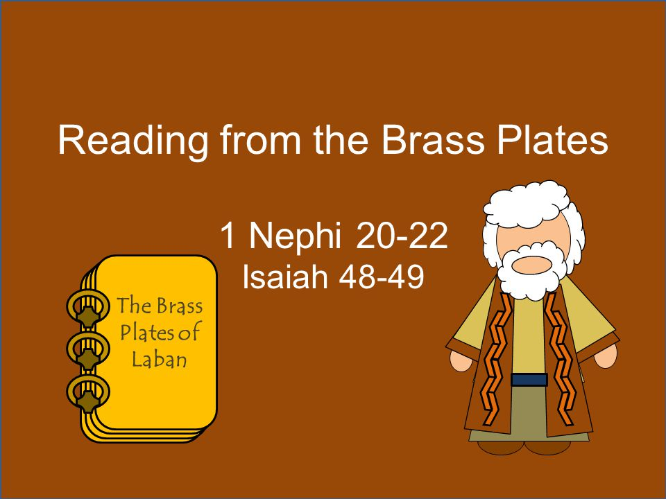 The Brass Plates of Laban