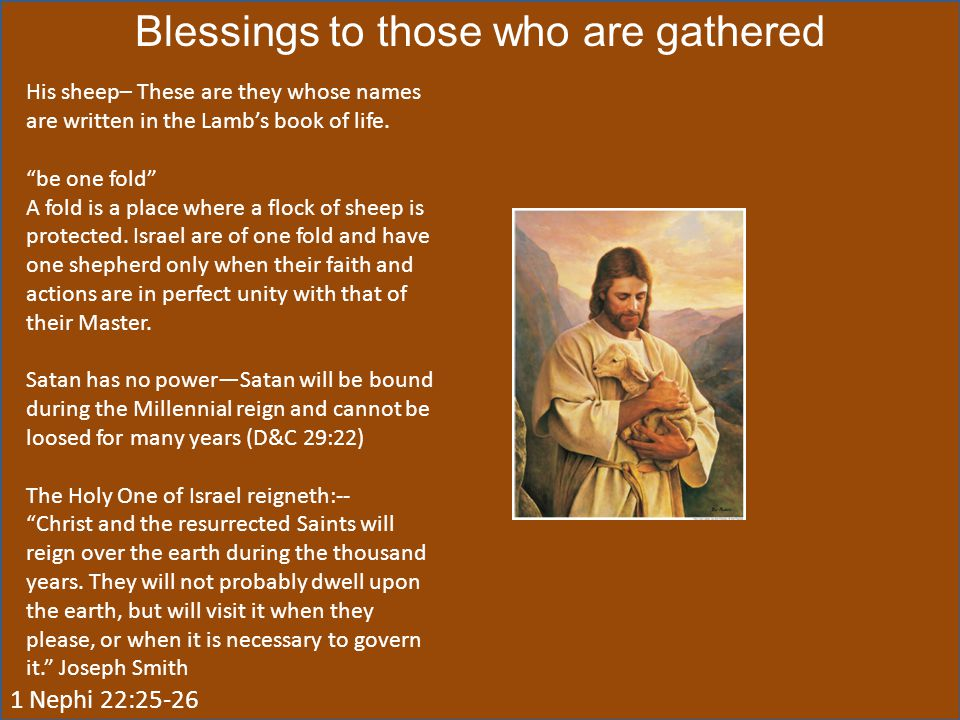 Blessings to those who are gathered