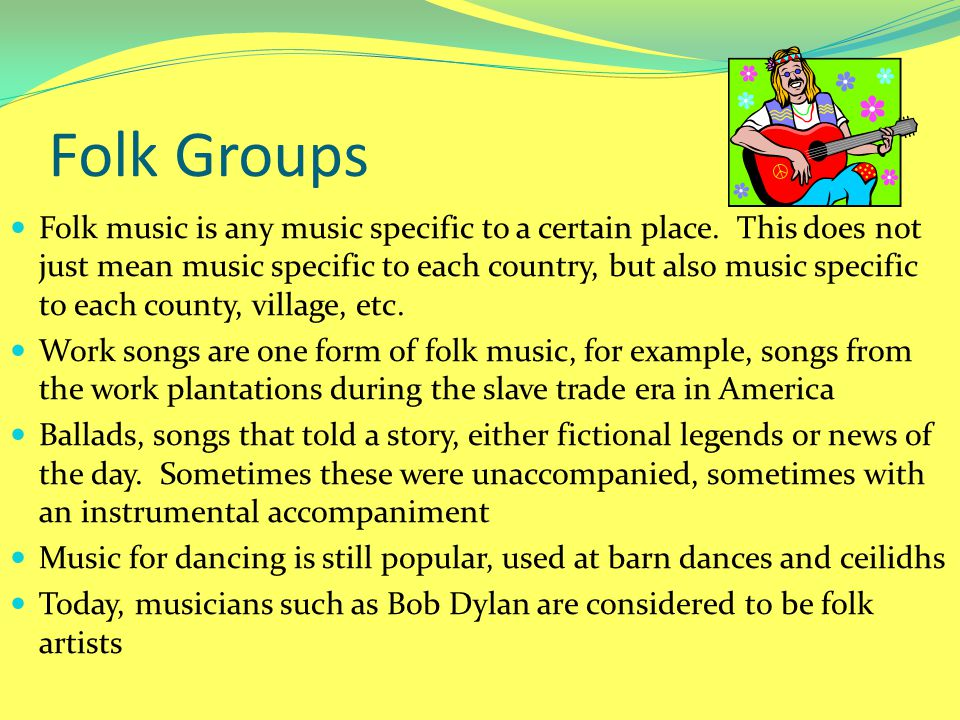 Folk Groups