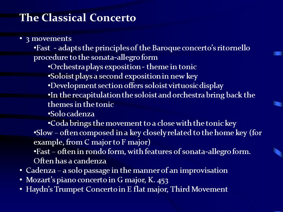 Classical Period ppt video online download
