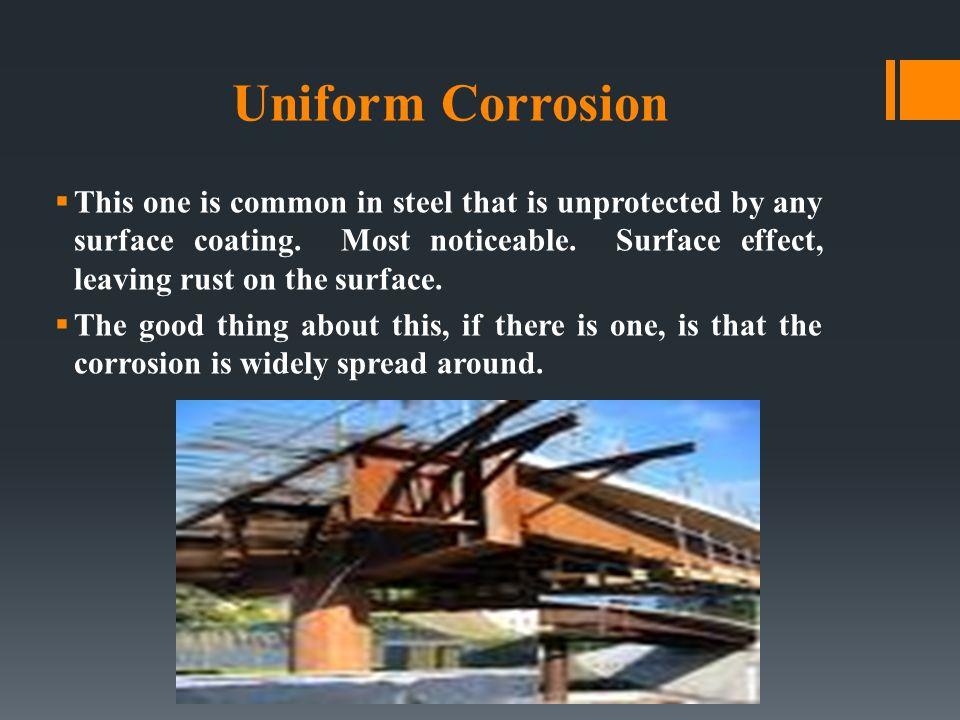 Uniform Corrosion