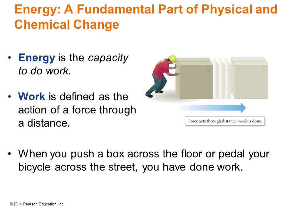 Energy: A Fundamental Part of Physical and Chemical Change