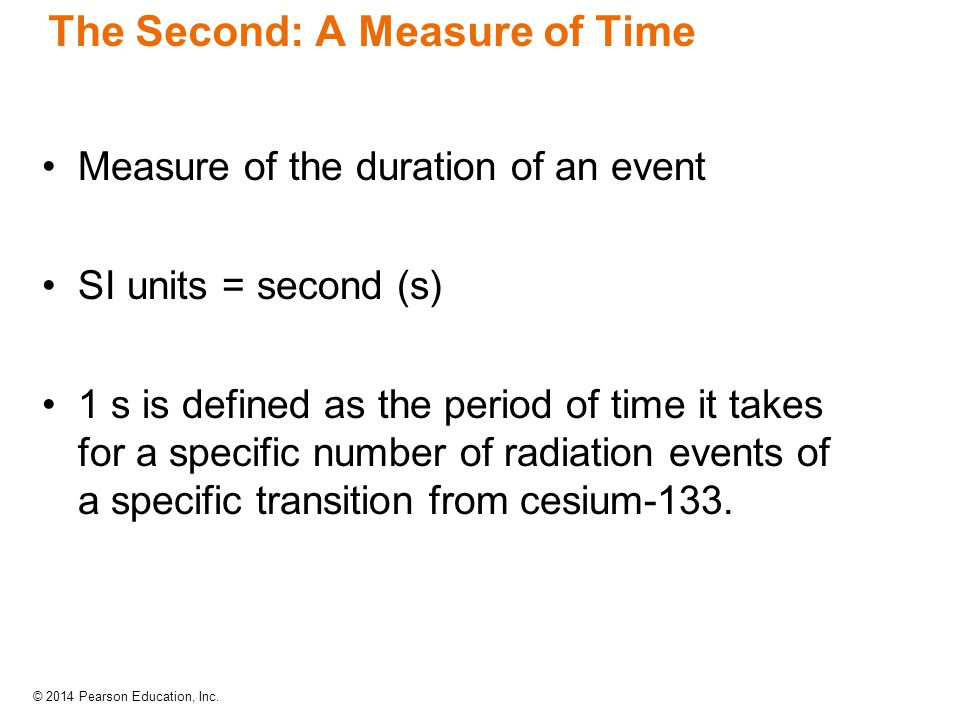 The Second: A Measure of Time