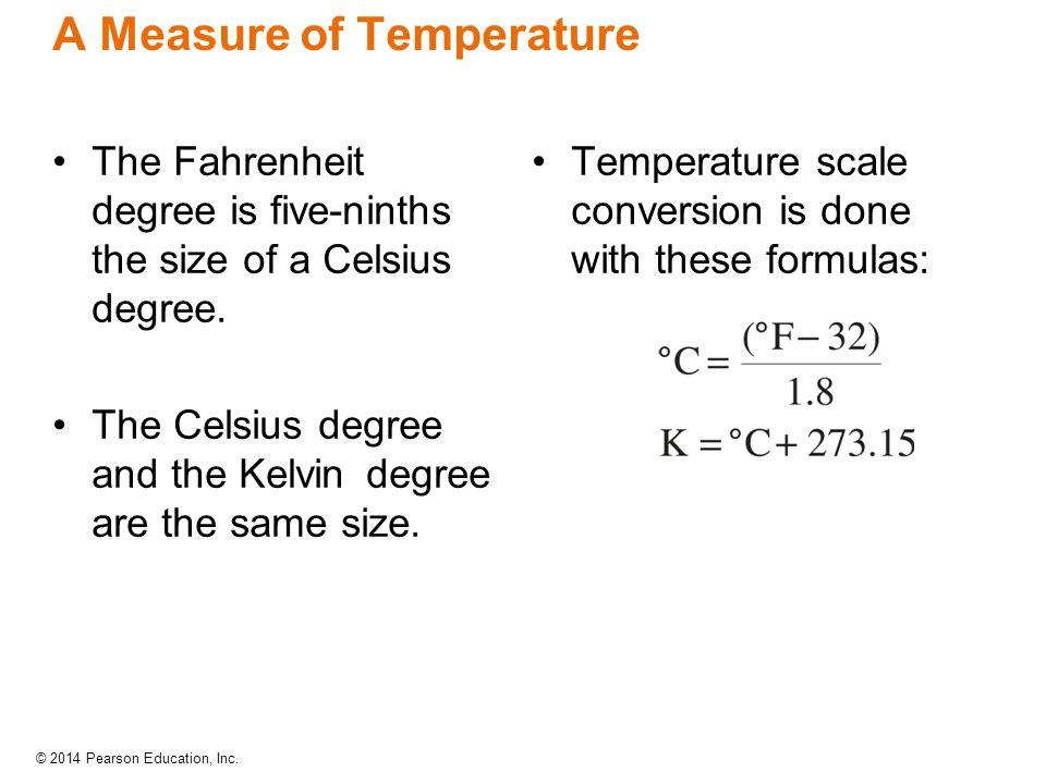 A Measure of Temperature