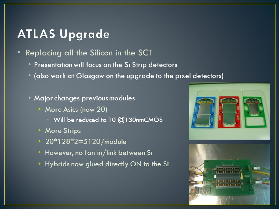 ATLAS Upgrade Replacing all the Silicon in the SCT