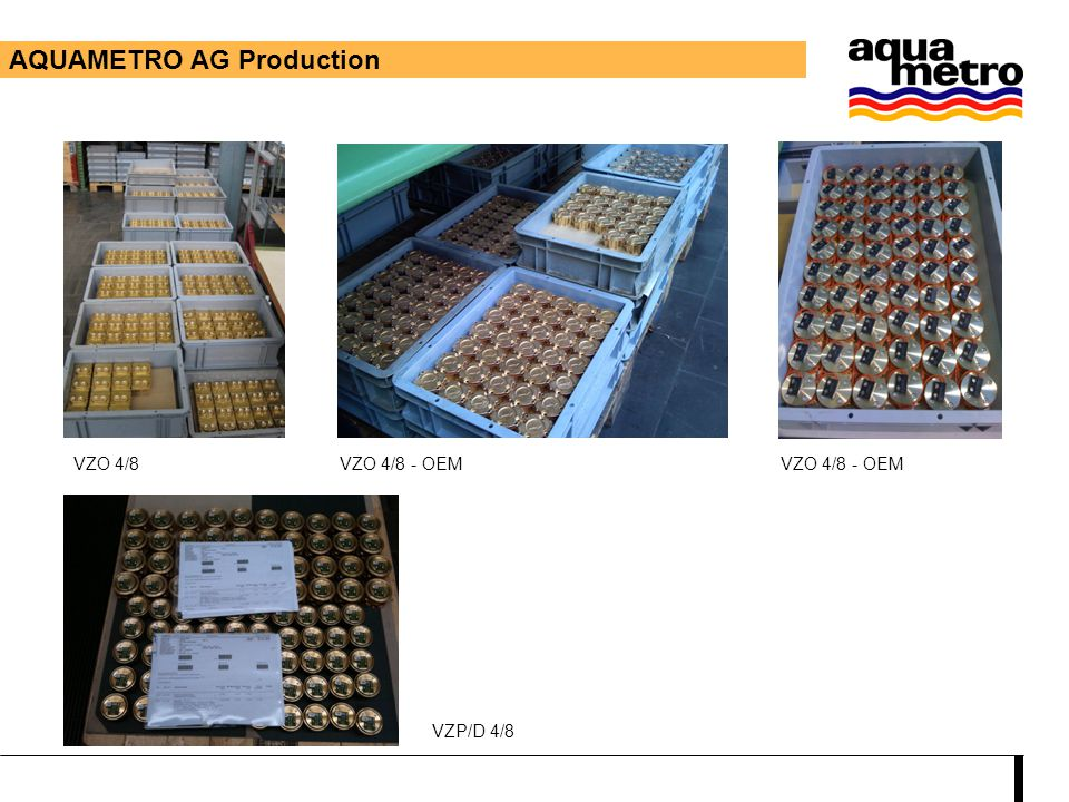 AQUAMETRO AG Production