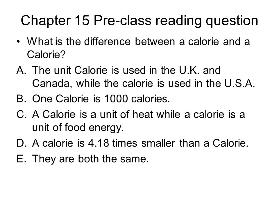Chapter 15 Pre-class reading question