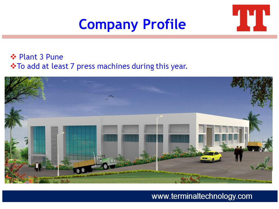 Company Profile Plant 3 Pune