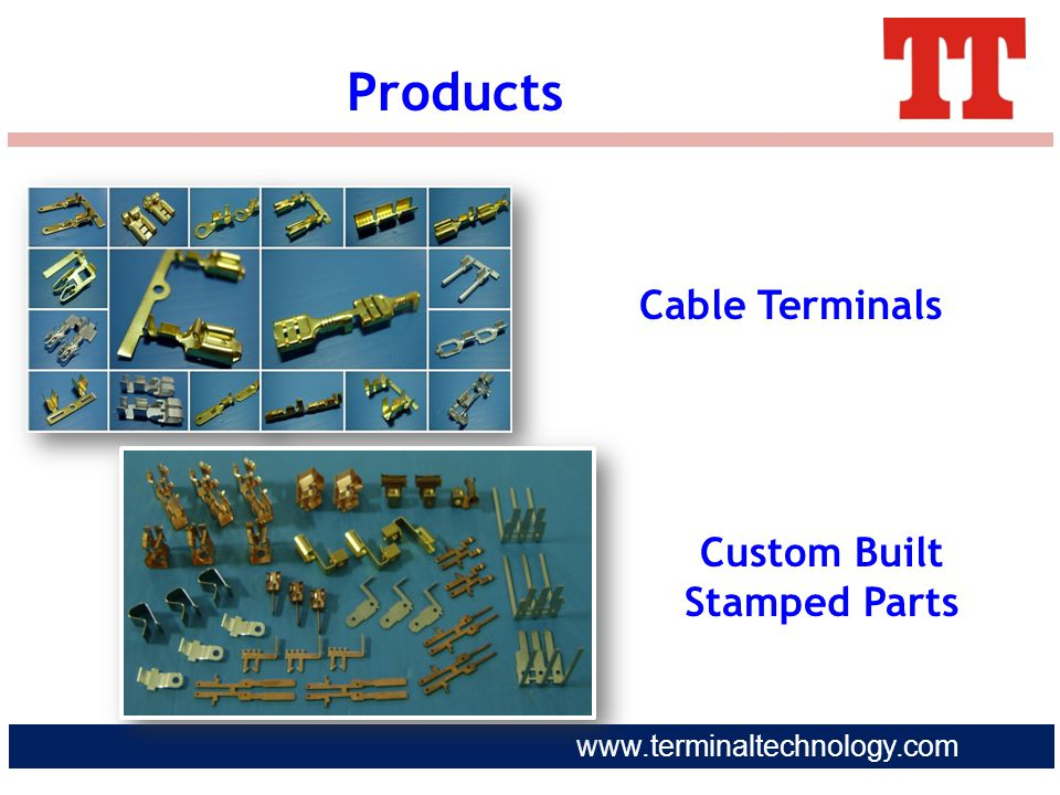 Custom Built Stamped Parts