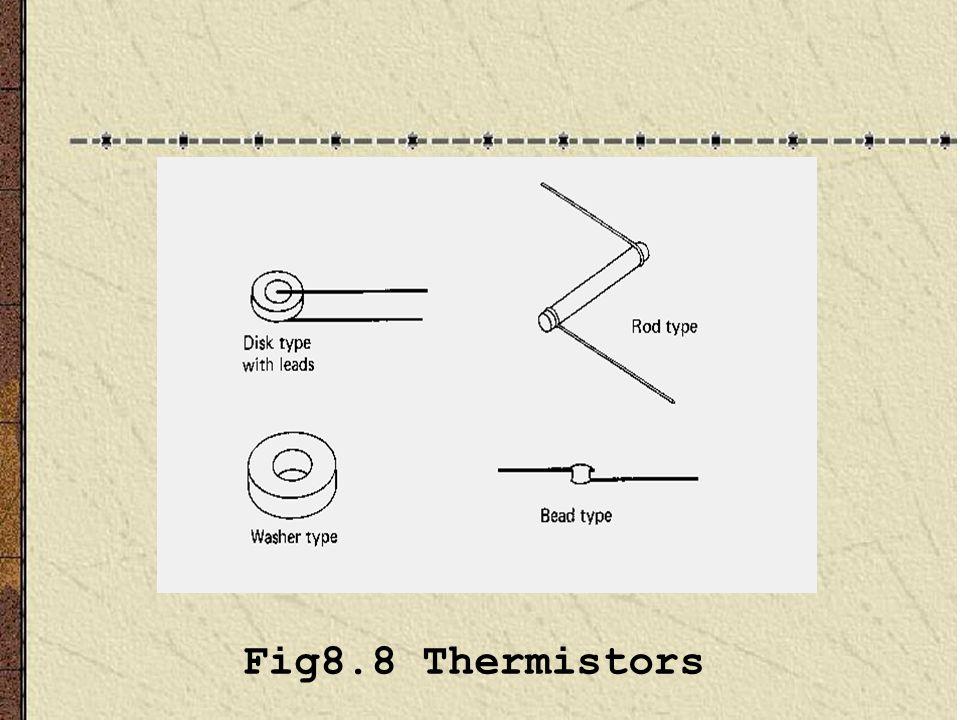 Fig8.8 Thermistors