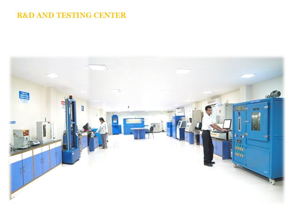 R&D AND TESTING CENTER