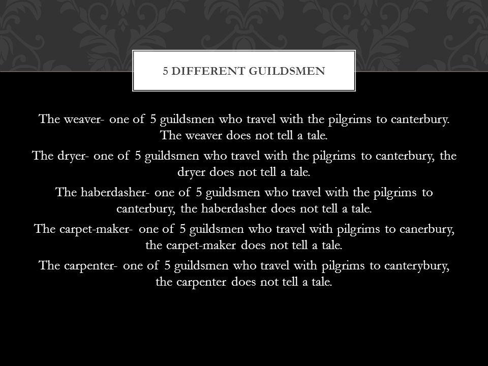 5 different guildsmen