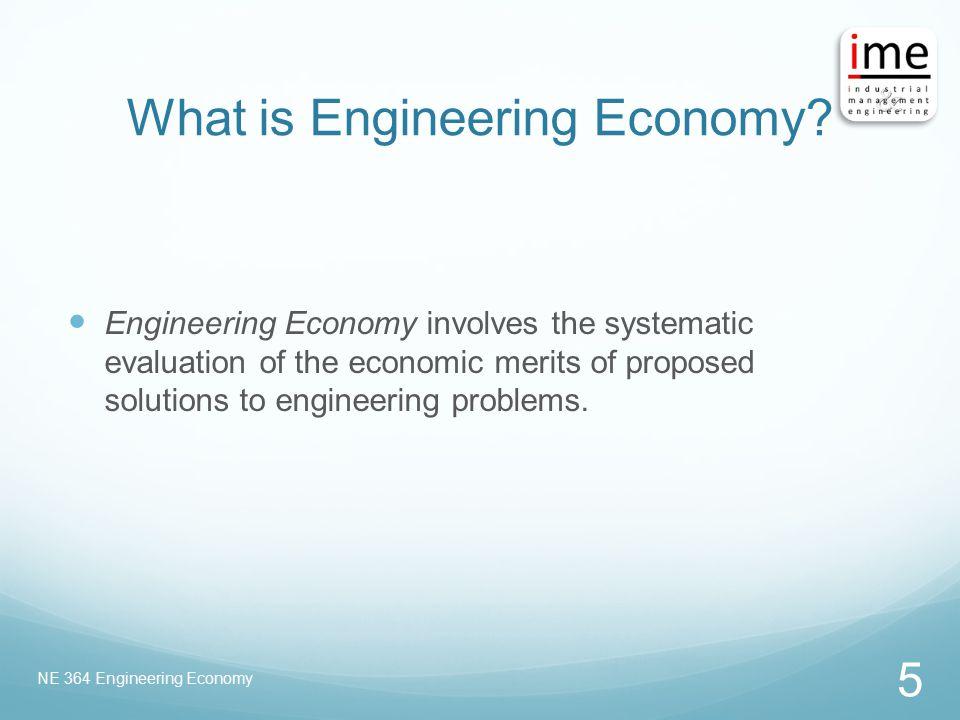 What is Engineering Economy