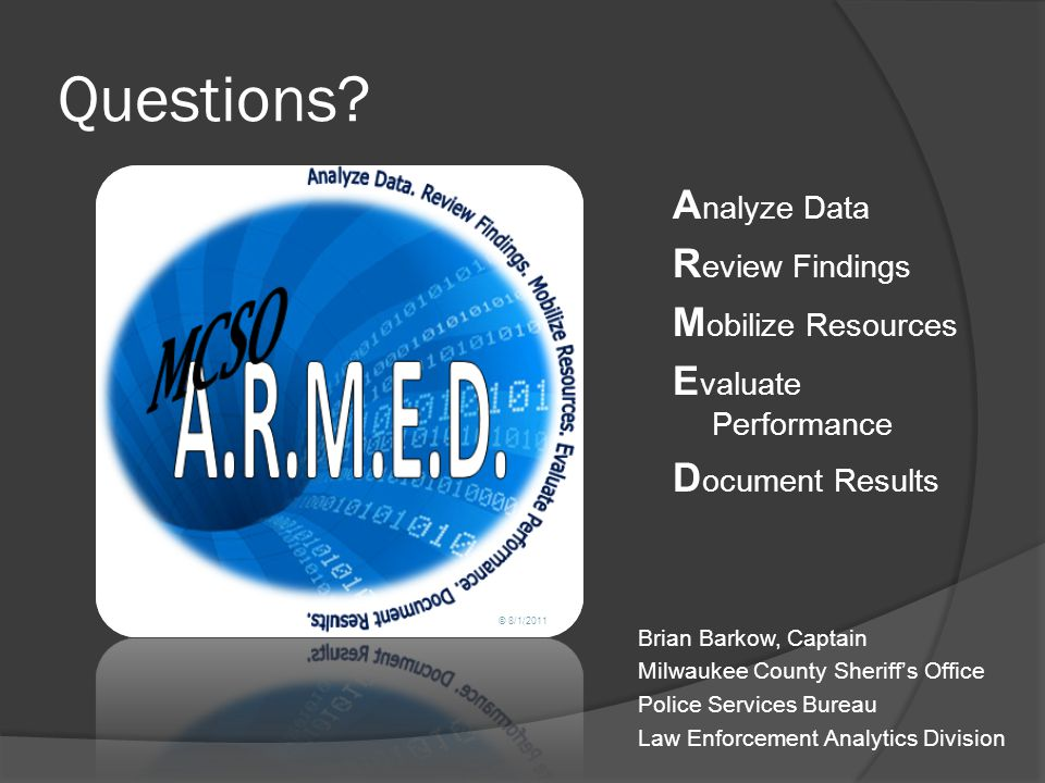 Questions Analyze Data Review Findings Mobilize Resources
