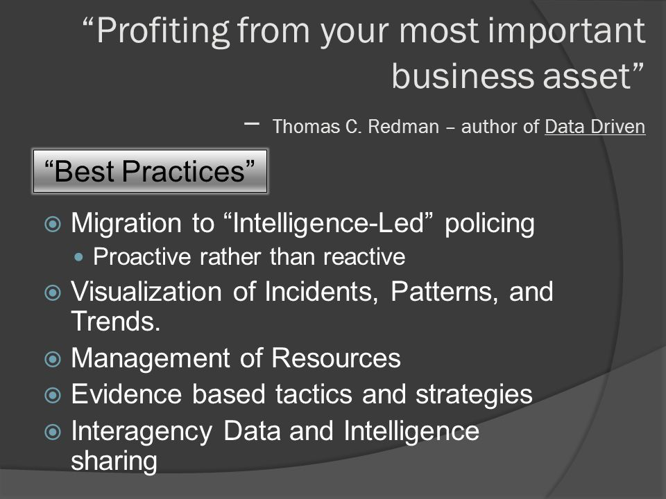 Profiting from your most important business asset – Thomas C