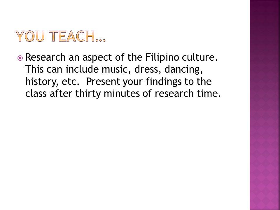 You teach…