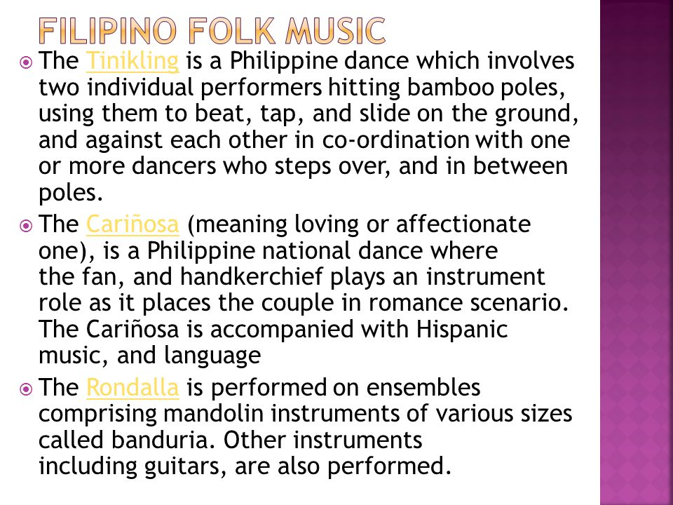 Filipino Folk Music