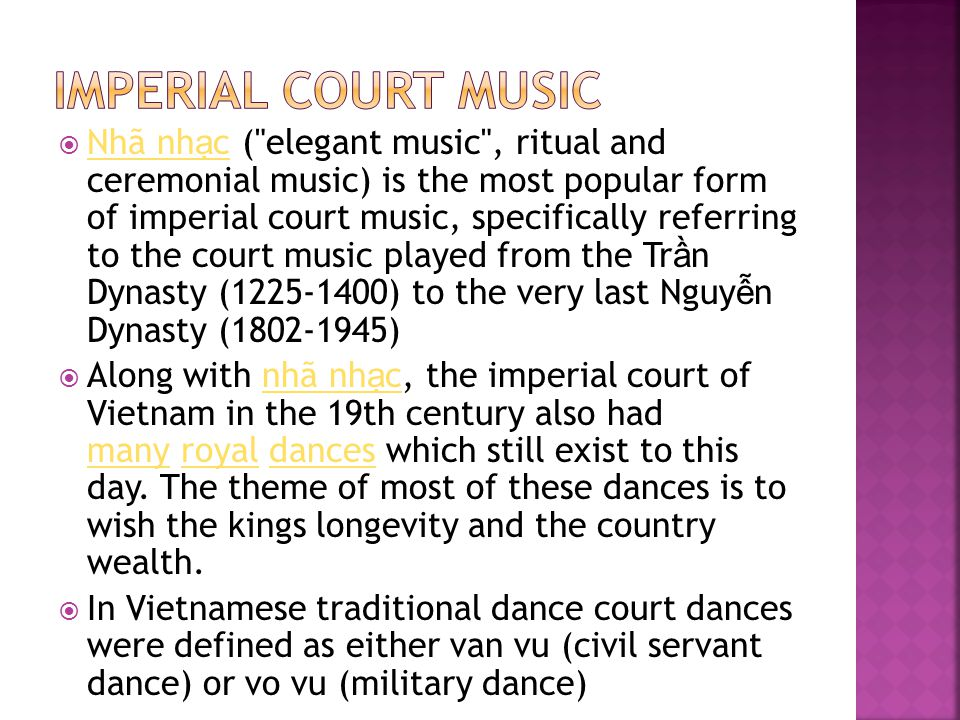 Imperial Court Music