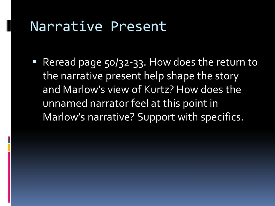 Narrative Present