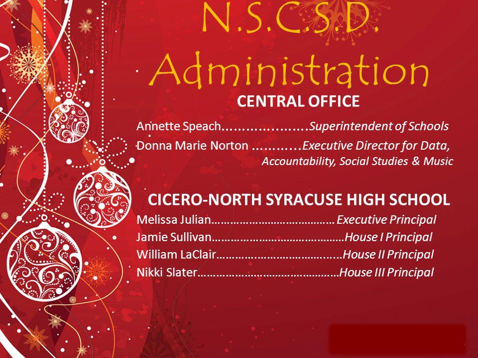 CICERO-NORTH SYRACUSE HIGH SCHOOL