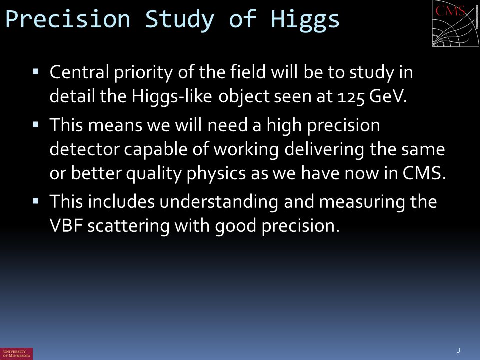 Precision Study of Higgs
