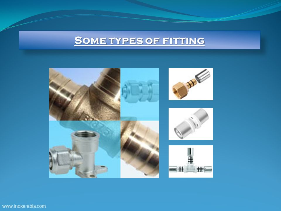Some types of fitting www.inoxarabia.com