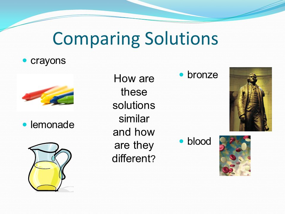 these solutions similar