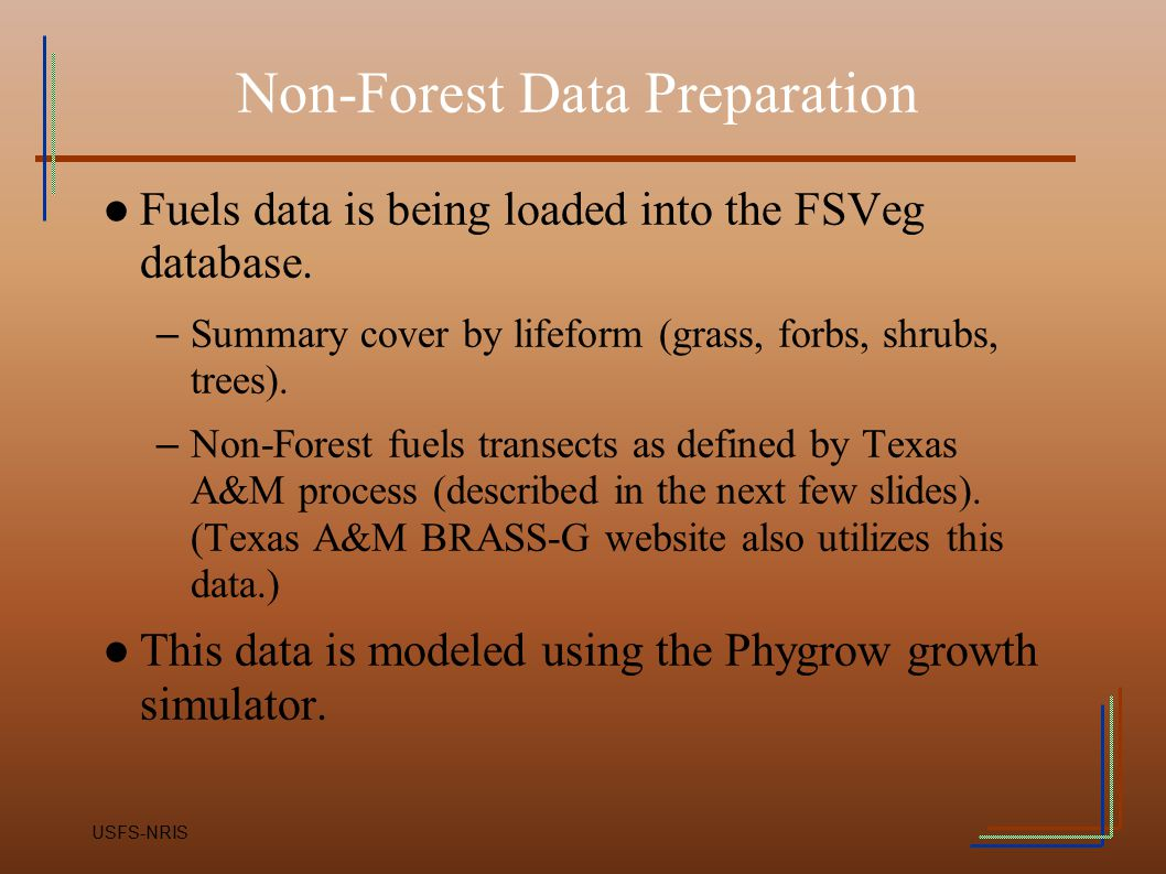 Non-Forest Data Preparation