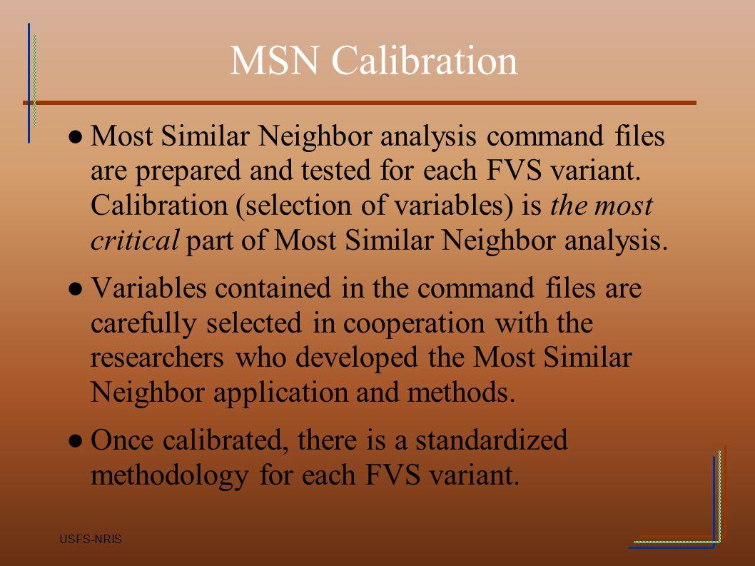 MSN Calibration