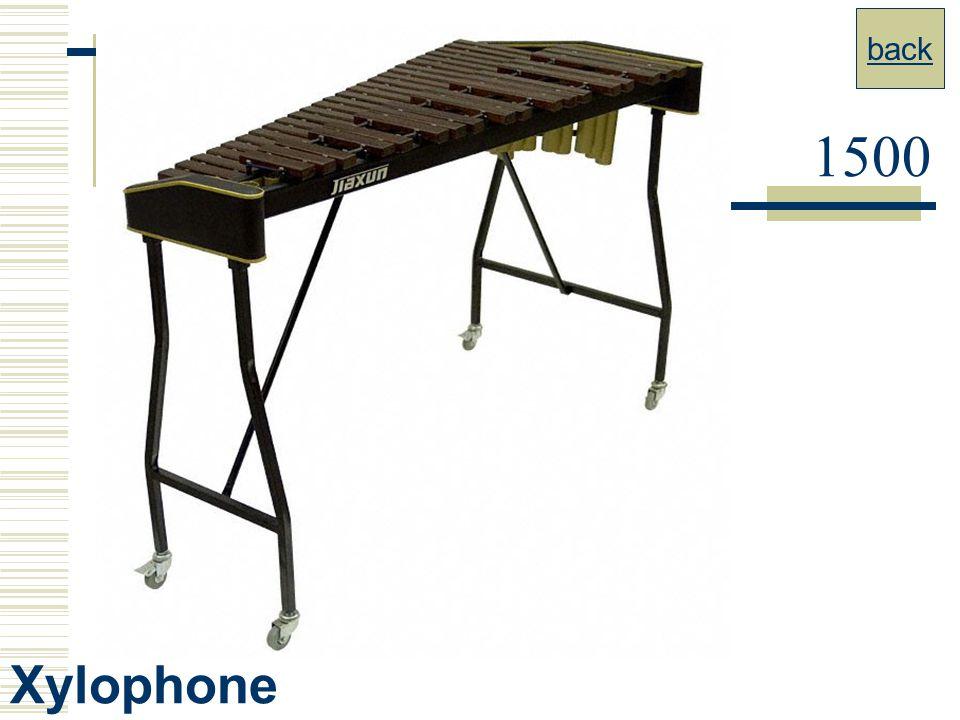 back 1500 Xylophone