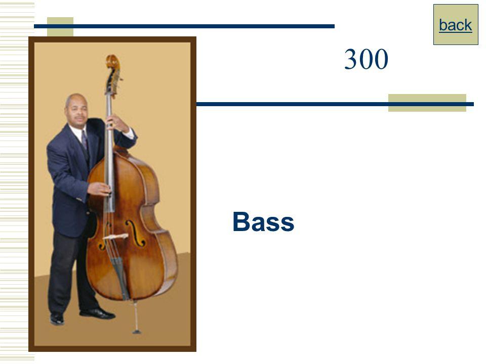 back 300 Bass