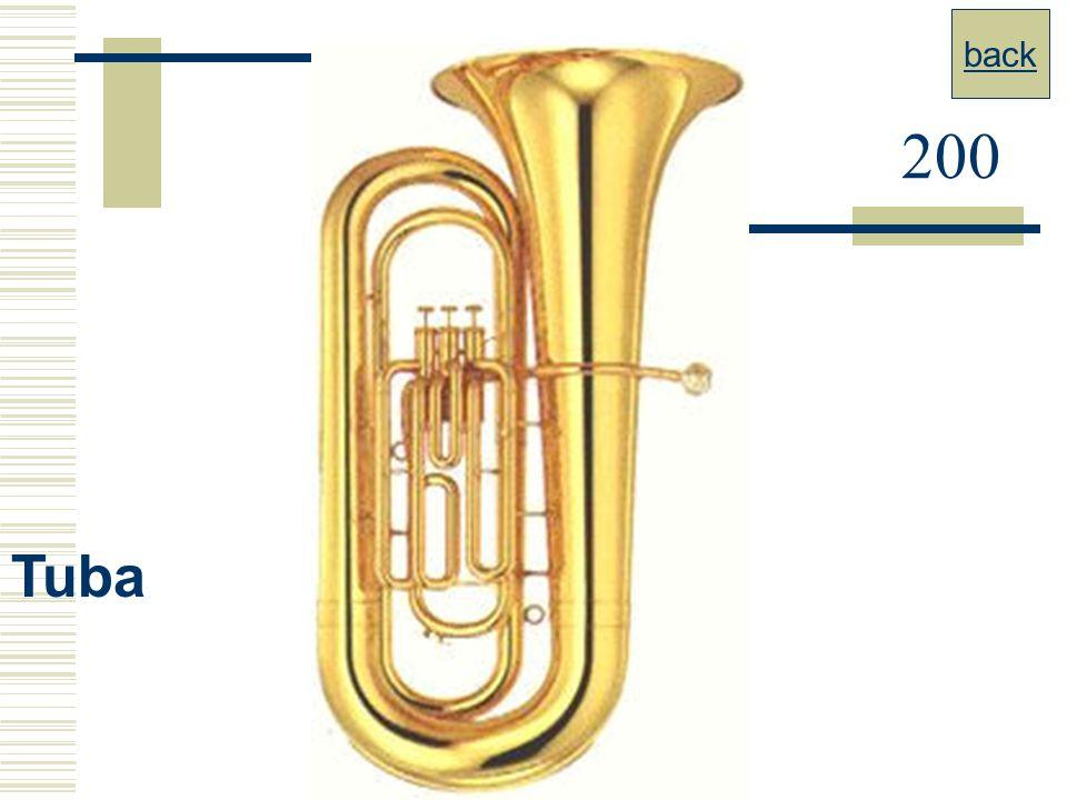 back 200 Tuba