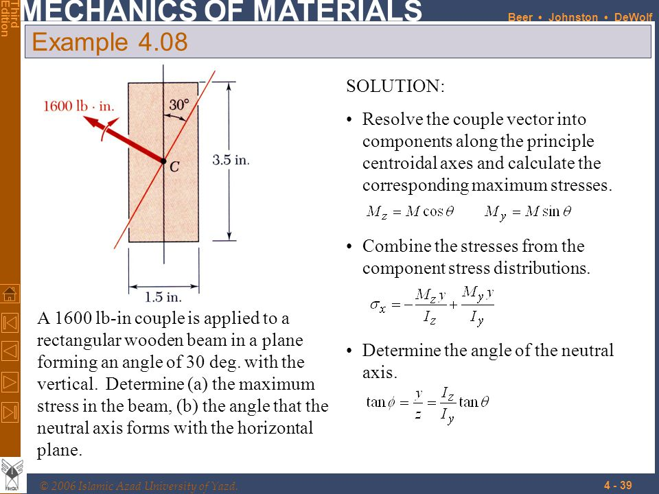 Example 4.08 SOLUTION: